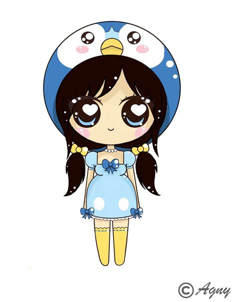 imagenes de personajes anime kawaii piplup girl chibi chibi pinterest kawaii buscar