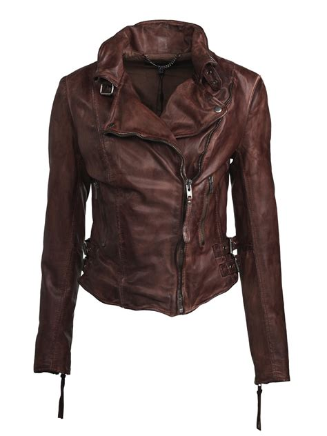 biker jacket flax leather biker jacket in burnet muubaa from muubaa uk