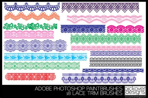 lace templates for photoshop 18 lace trim brushes photoshop brushes on creative market