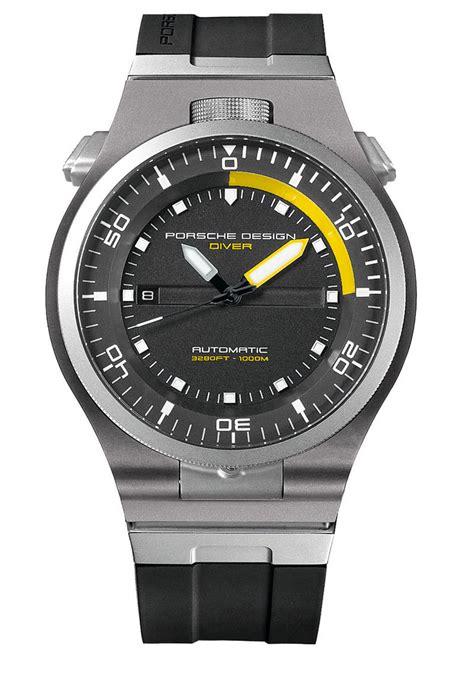 Porsche Design Watches by Porsche Design P 6780 Diver A Serious Diving That