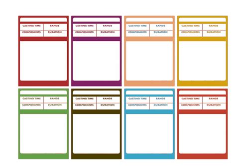 dungeons and dragons templates dungeons dragons clipart spell card pencil and in