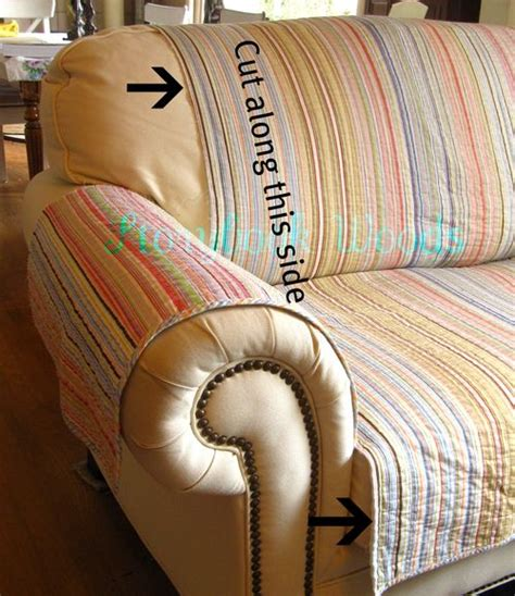 make your own sofa cover make your own loveseat protector storybook woods
