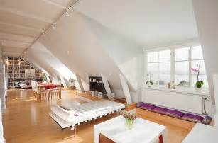Attic Apartment Ideas by Attic Room Neutral Decor Interior Design Ideas