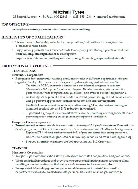 Resume Sle For Retail Team Member Support Workers Resume Sales Support Lewesmr