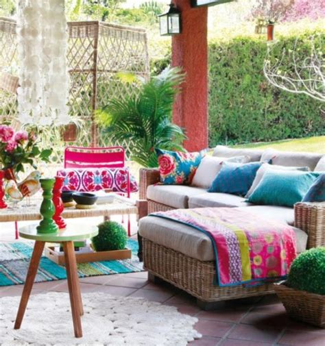 Colorful Patio Furniture Colorful Youthful Back Patios