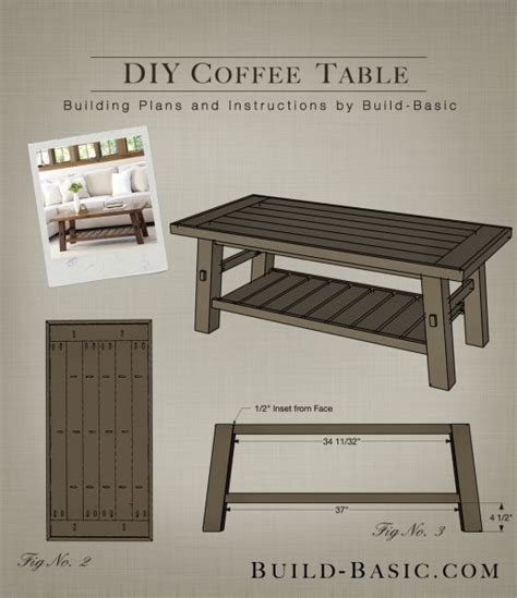 Diy Coffee Table Plans Top 133 Ideas About Build Basic Building Plans On Pinterest Appliance Garage Modern Table