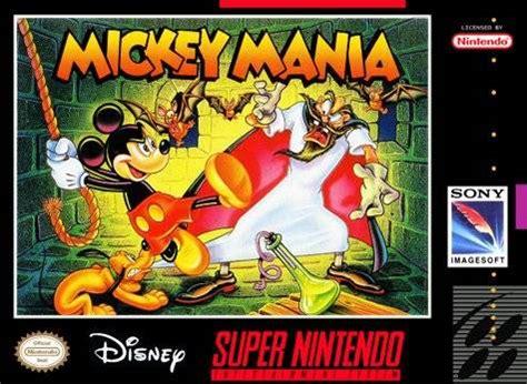 mickey mania (game) giant bomb