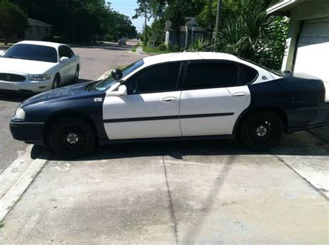 sell   police chevy impala  jacksonville