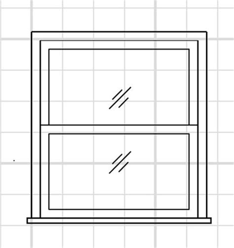 drafting a window – drafting, modeling and 3d printing