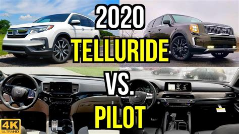 2020 Kia Telluride Vs Honda Pilot by New King On The Block 2020 Kia Telluride Sx Vs Honda