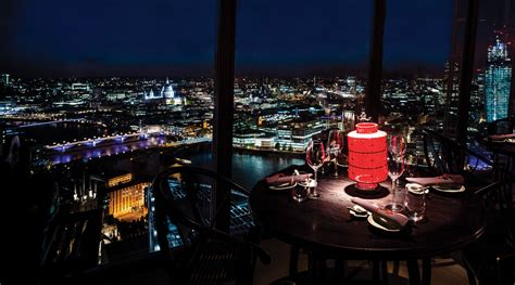 top of the shard bar hutong at the shard launches mid autumn festival