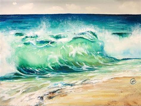 watercolor waves tutorial beach waves watercolor www pixshark com images