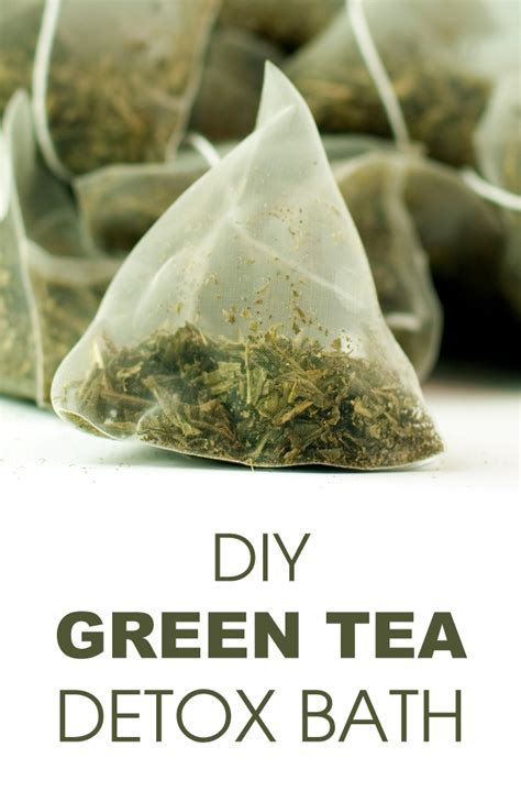 How To Detox Your With Green Tea by Diy Green Tea Detox Bath