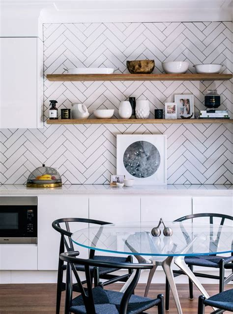 12 stylish and contemporary ways to use subway tiles in 12 different ways to lay subway tile construction2style