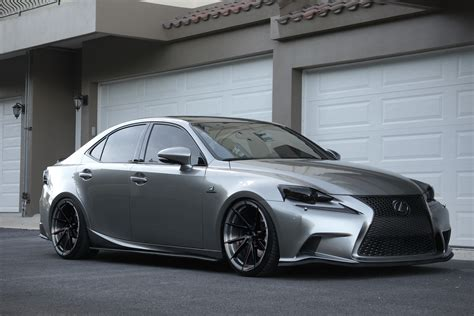 lexus is350 custom lexus is350 f sport stance sf01 rotary forged japanese