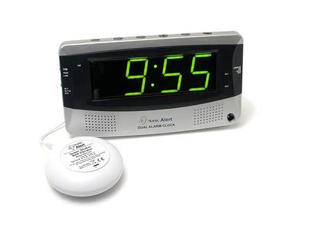 sonic alert sbd375ss sonic boom dual alarm vibrating alarm clock new free shi 650518100053 ebay
