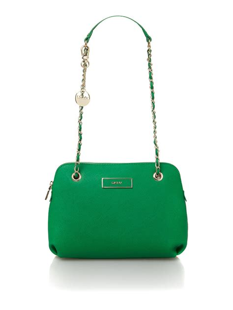 dkny crossbody bag in green lyst