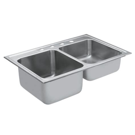 moen 22219 camelot stainless steel 20 bowl