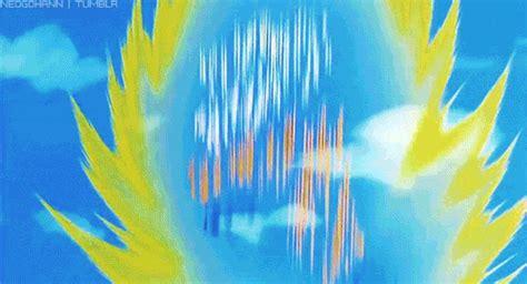 imagenes de goku teletransportacion animated gif find share on giphy