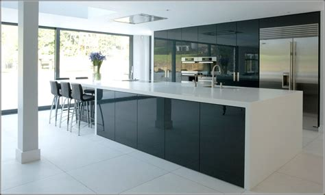 black gloss kitchen cabinets modest scheme of high gloss kitchen doors ikea kitchen