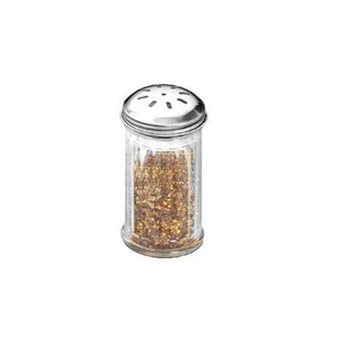 spice shaker american metalcraft gla317 12 oz glass spice shaker w to etundra