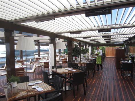 Restaurant Le Patio Rodez by Pro Distribution Automatismes 10600 Pergola Bioclimatique
