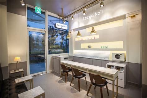 Ballard Design Store leega nail salon by ssomoo design suwon south korea