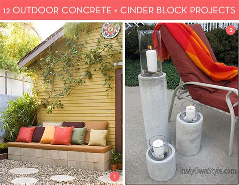 diy outside projects cinder block bench table and more 12 diy cinder block ideas curbly