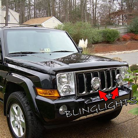 Jeep Commander Bumper Jeep Commander Road Bumper Auxilliary Ls Driving Lights