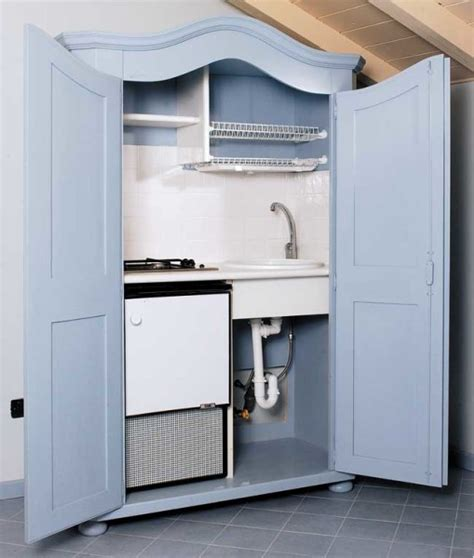 cucine armadio cucina nascosta in un armadio costruzione fai da te