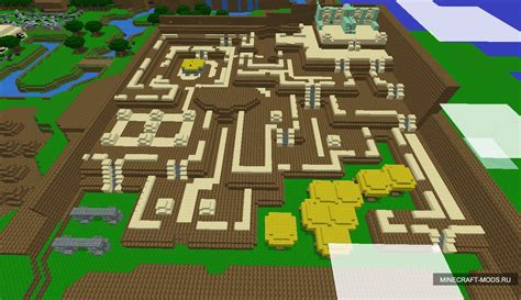 legend of zelda parkour map legend of zelda a block to the past карта карты для