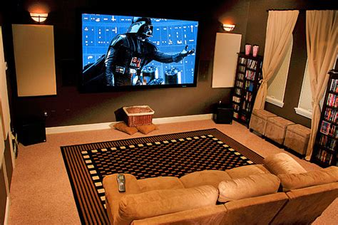 Home Theater System Design Tips by Home Cinema Designs And Ideas
