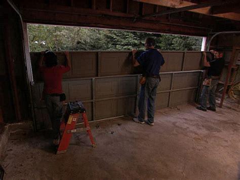 How To Remove A Garage Door diy garage ideas garage doors organization remodeling