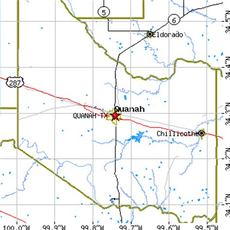 quanah texas map quanah texas tx population data races housing economy
