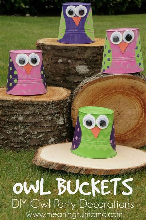 Diy Owl Decorations by Best 25 Owl Ideas On Owl