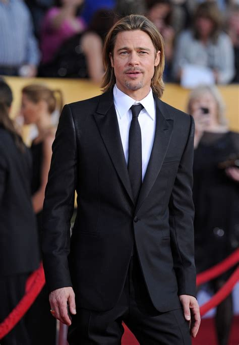 Pitt To Skip Sag Awards by Brad Pitt In 18th Annual Sag Awards Zimbio