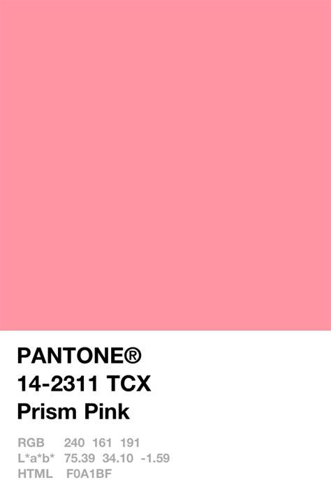 pink pantone prism pink pantone pinterest pantone
