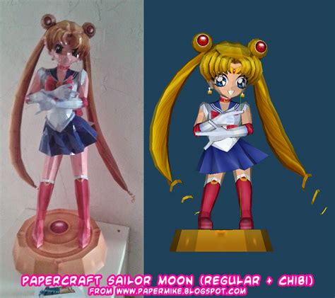 Sailor Moon Papercraft - ninjatoes papercraft weblog papercraft sailor moons
