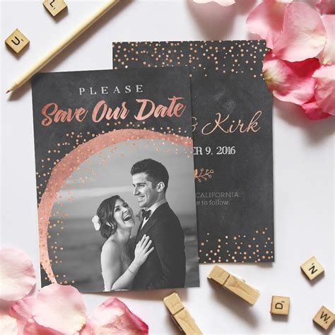 check out these adorable save the date templates