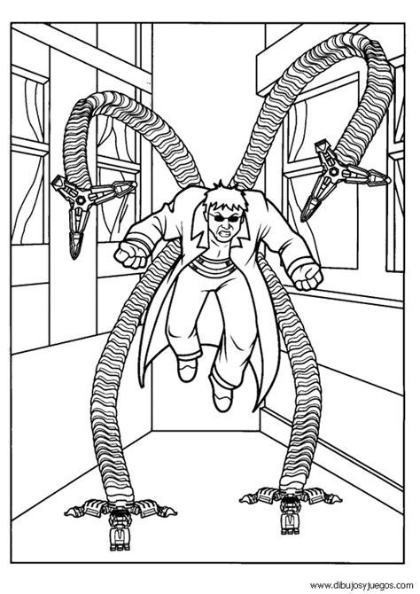 imagenes para pintar spiderman dibujos de spiderman 170 dibujos y juegos para pintar y