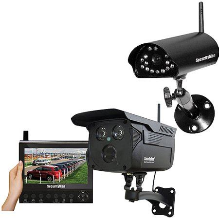 security man digital wireless security system with add on