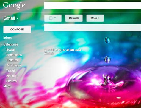 themes for gmail background customize gmail themes