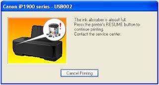 cara resetter manual canon ip 1980 cara reset printer canon ip 1980 secara total software