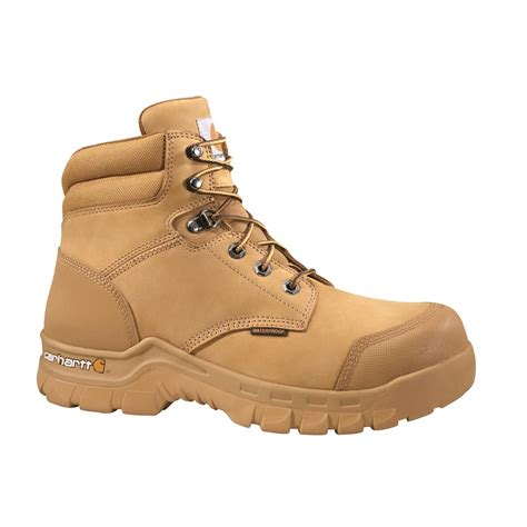 safety work boots for carhartt s waterproof 6 quot rugged flex safety toe work