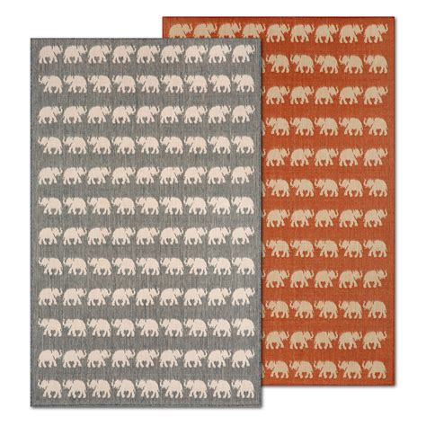 Elephant Indoor Rug by Elephant Indoor Outdoor Rug Gump S