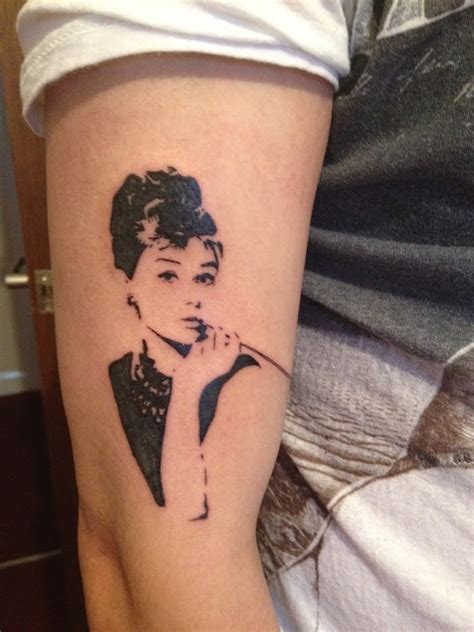 audrey hepburn tattoo tattoos i love pinterest