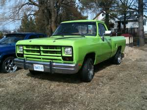 78 Dodge D100 1982 Dodge D100 Box Cars And Trucks