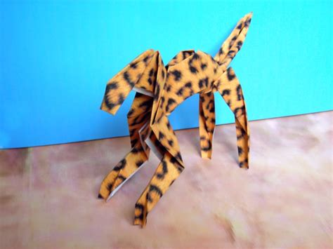 Leopard Origami - joost langeveld origami page