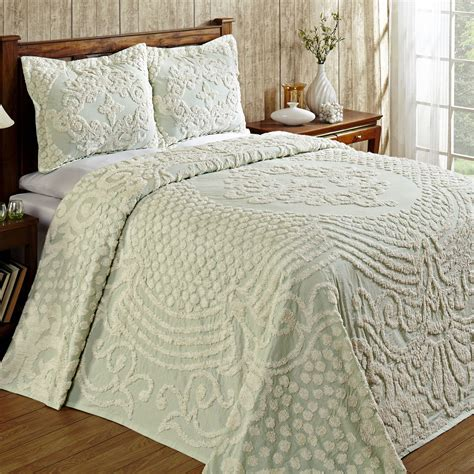 chenille bedding florence medallion chenille bedspread