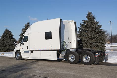 Trailer Sleeper by Integrated Tractor Trailer Sleeper Cab Bolt Custom Trucks